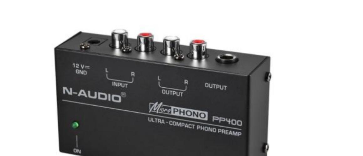 PP400 προενισχυτης phono turntable preamplifier