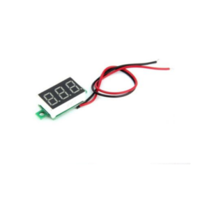DSN-DVM-368 LED three line digital voltmeter red