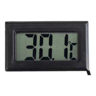THER1 Ψηφιακό Θερμόμετρο  Εσωτερικού Χώρου μαυρο