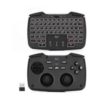 Rii RK707 mini wireless game controller mouse keyboard