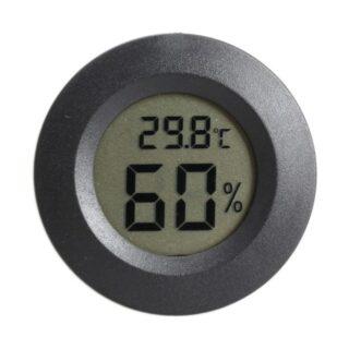 THER4 Ψηφιακό Θερμόμετρο / Υγρασιόμετρο Εσωτερικού Χώρου μαυρο
