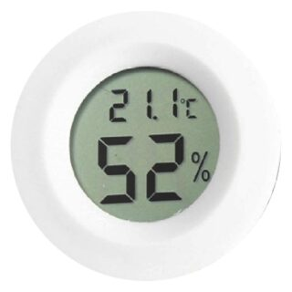 THER3 Ψηφιακό Θερμόμετρο / Υγρασιόμετρο Εσωτερικού Χώρου λευκο