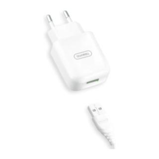 V10 TRANYOO KIT φορτιστή USB με καλώδιο  TYPE-C  2,4A