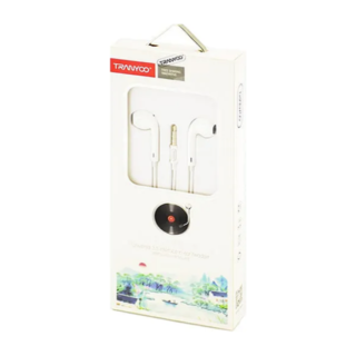 T3 Type 3,5mm  Stereo Headset Ακουστικά με μικρόφωνο λευκά Tranyoo