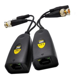 Video & Power 2 in 1 HD for CVI TVI AHD CVBS BNC camera 1-CH passive Transmitter