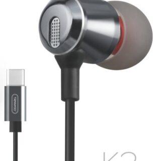 K3 Type-C Stereo Headset Ακουστικά με μικρόφωνο μαυρο Tranyoo